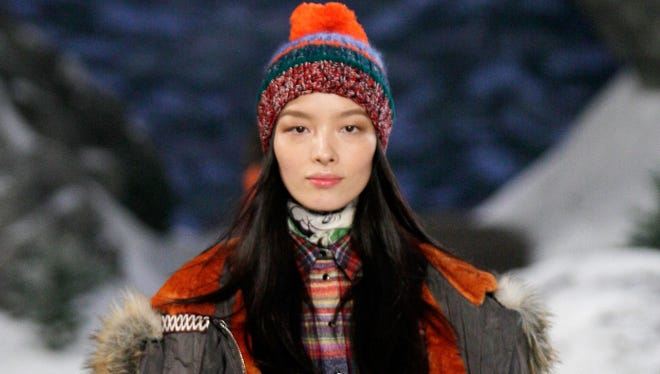Tommy Hilfiger showed plenty of fur for fall.