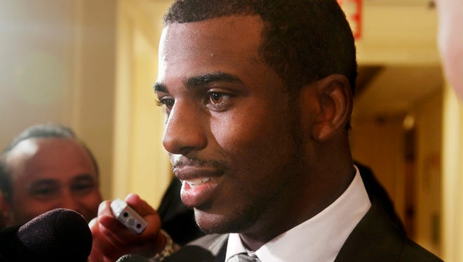 Chris Paul was re-elected president of the NBPA.