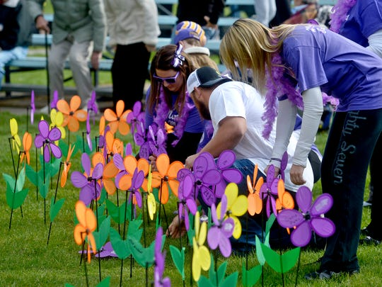 The annual Walk to End Alzheimer's is scheduled for Saturday at Centene Stadium.