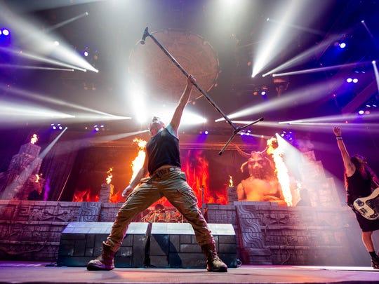 British heavy-metal group Iron Maiden