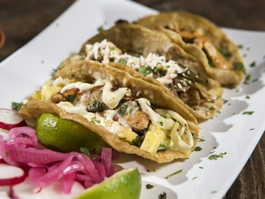 An order of tacos at Frida 602.