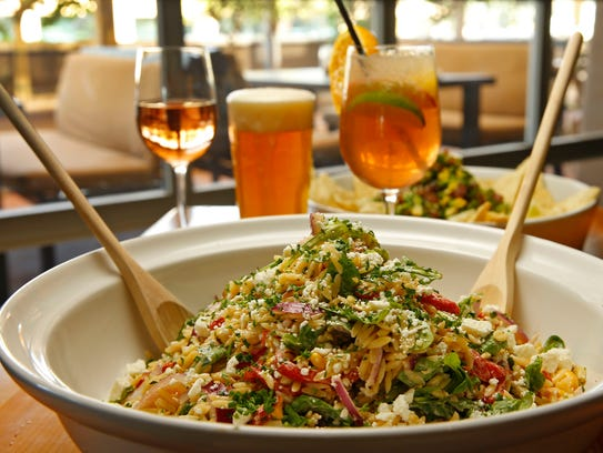 Summer Orzo Salad from Grassroots Kitchen & Tap Wednesday,