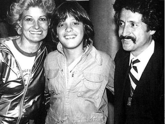 (De izqu. a der.) Marcela Basteri, Luis Miguel y Luisito