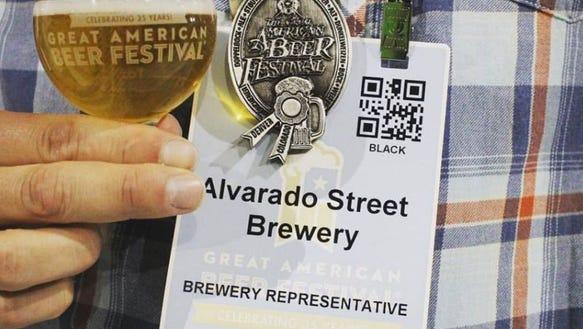 Alvarado Street Brewery's Mai Tai P.A. took home a