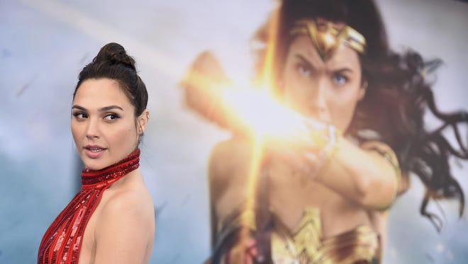 """""""Wonder Woman,"""" which stars Gal Gadot, grossed $103.1 million in North America in its debut weekend."""