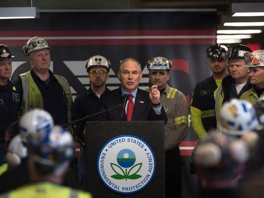 EPA Administer Scott Pruitt Visits Pennsylvania Coal Mine