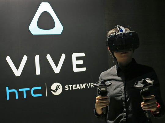 HTC Vive comes with both gesture controllers as well