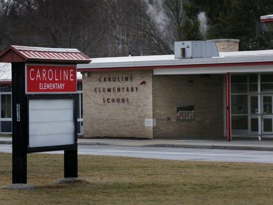 Caroline School lead in water