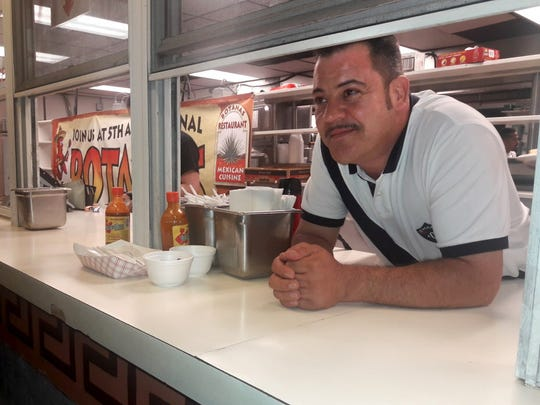 Jaime Gonzalez, owner of Botanas Mexican restaurant,