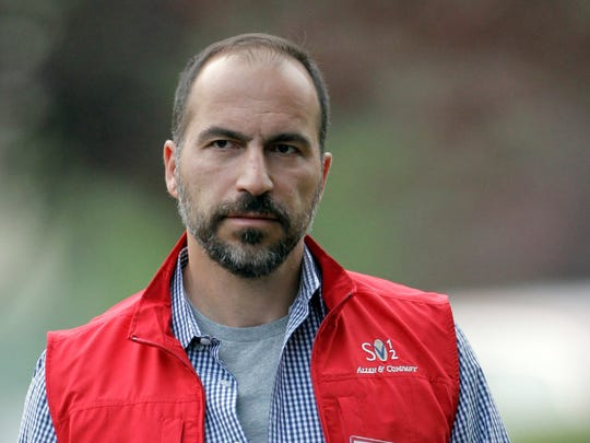 In this July 13, 2012, file photo, Dara Khosrowshahi