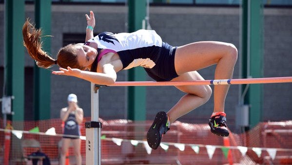 Wolf Pack track and field athlete Nicole Wadden.