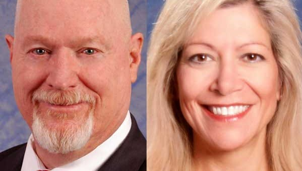 Randy Kirner, left, and Lisa Krasner are seeking election to the Nevada Assembly representing District 26.