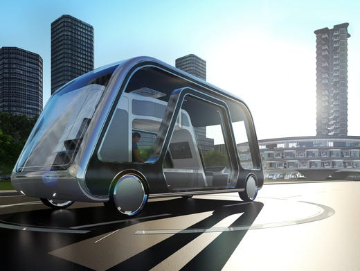 Image result for A self-driving mobile hotel room