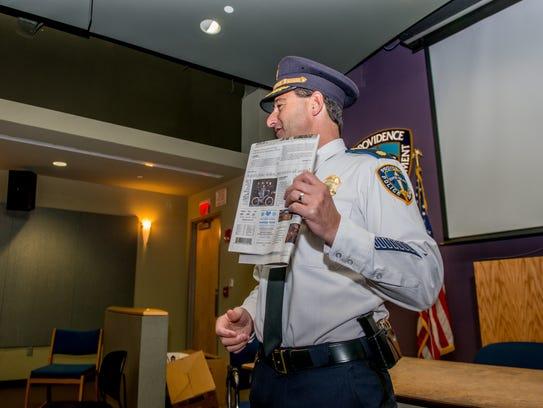 Providence Police Major Tom Verdi shares a postive