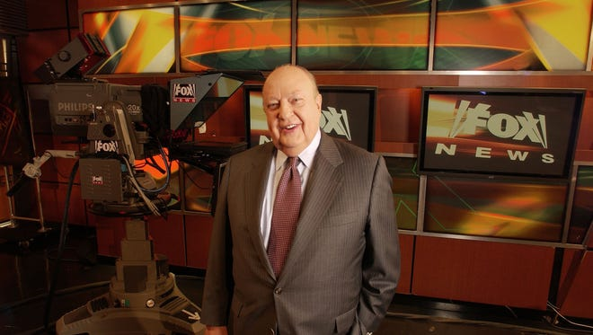 Then-Fox News CEO Roger Ailes in 2006.