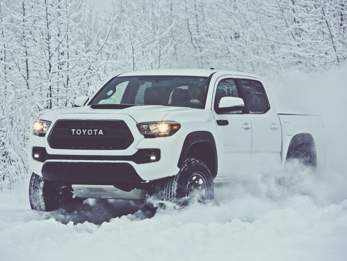 Toyota Tacoma TRD Pro has lot of ground clearance