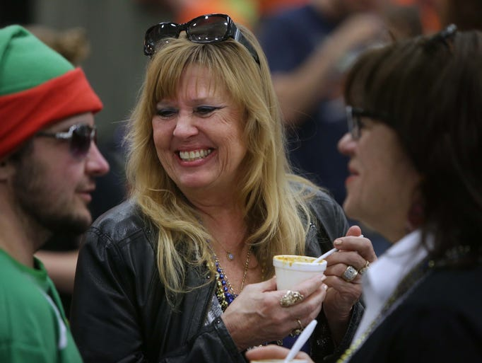 Hundreds attended the 35th Annual Sertoma Chili Cookoff.