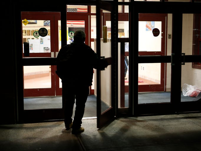 A man enters the Northern Westchester Boys and Girls