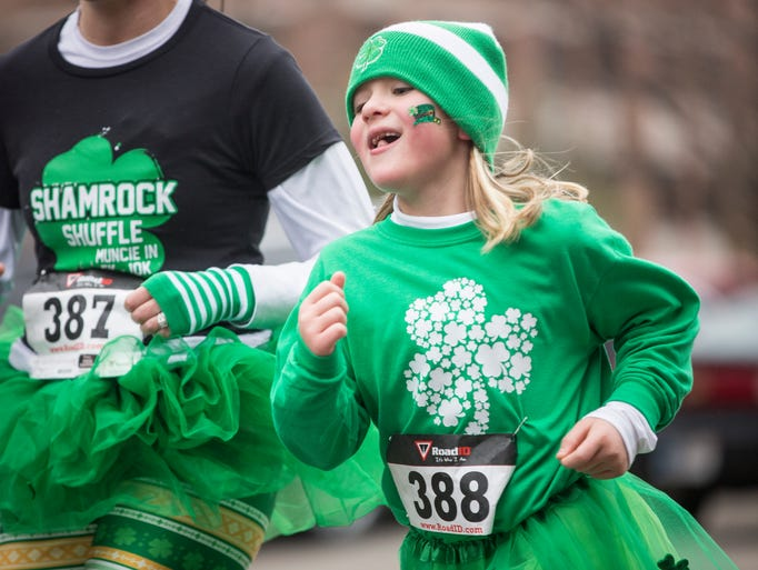 Scotty's Shamrock Shuffle on March 18 saw over 200