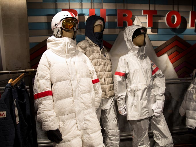 The 2018 Olympic uniforms designed by Burton were inspired