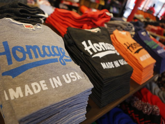 Homage clothing store