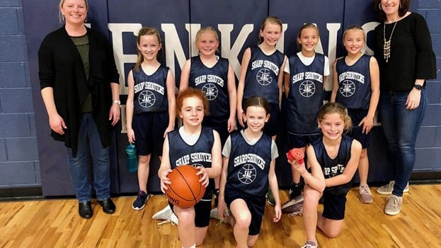 The Sharp Shooters captured the 10-U league's postseason tournament title at Jenkins Athletic Club.