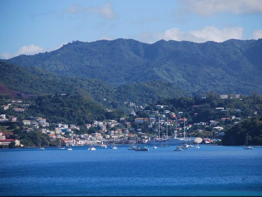 Boats have access to and from the island year-round via this natural harbor
