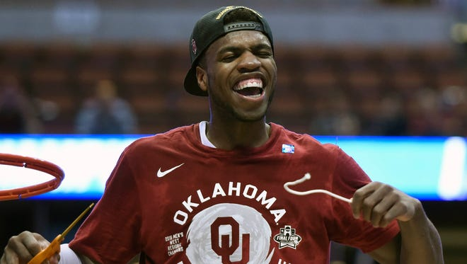 Oklahoma Sooners guard Buddy Hield (24) has been outstanding in the NCAAA Tournament.