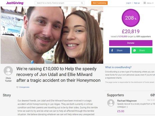 Jonathan Udall and Ellie Milward