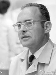 Gordon Moore, co-founder of Intel Corp. in the 1970s.