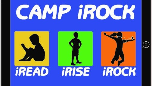 Camp iRock includes not only an intensive, personalized reading program but will offer everything a regular YMCA camp might have – swimming, archery, soccer, music, team-building exercises, field trips and more.
