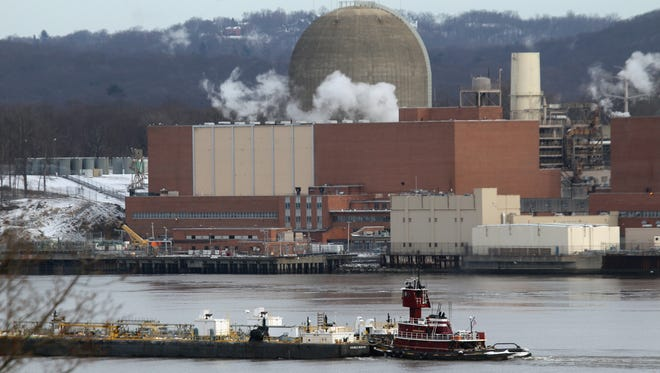 The Indian Point Energy Center nuclear power plant in Buchanan Jan. 9, 2017.