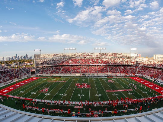 TDECU Stadium, home of the Houston Cougars.