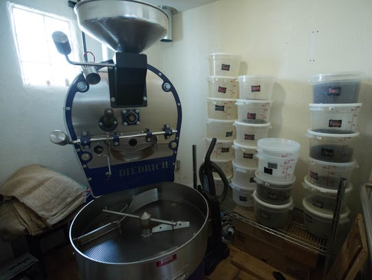 Beck's Roasting House and Creamery. The coffee shop and roaster will soon be offering baked goods and artisan ice cream.