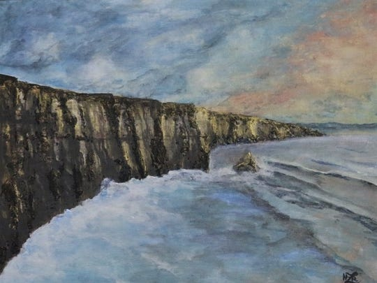 """""""The Cliffs of More"""" by Heather Rydell."""