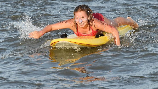 Junior Lifeguard Olympics were held on Aug. 3 in Rehoboth Beach.