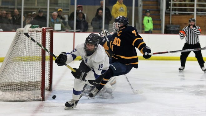 Waukesha's Chad Larsen (19) helped the Wings score two victories over state-ranked teams last week.