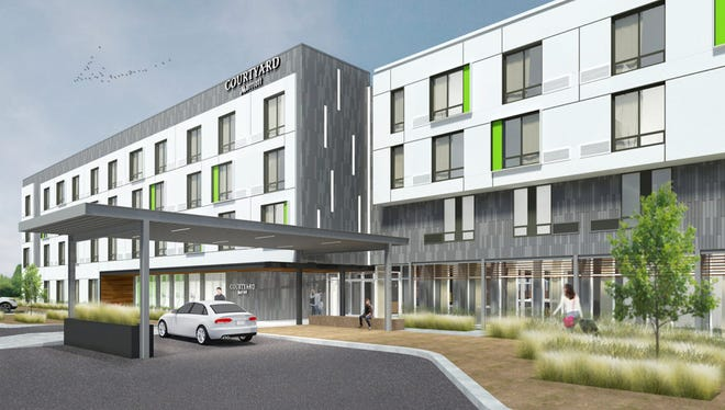 A new Courtyard by Marriott hotel will be developed on 2.2 acres in Millport Circle in Mauldin.