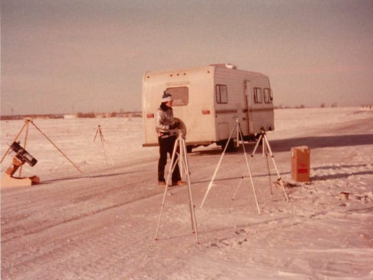 Rob Sobnosky witnessed the Feb. 26, 1979 total eclipse