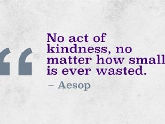Kindness is always an option.