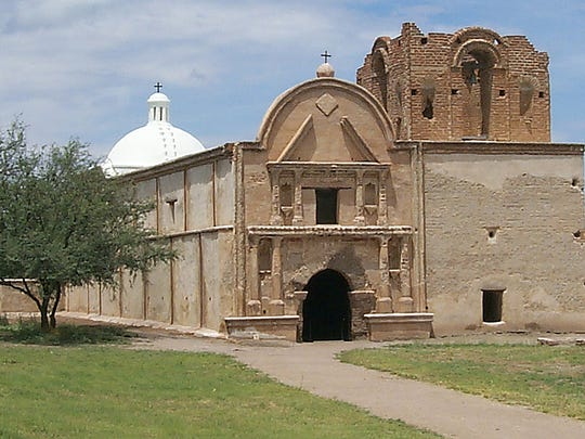 Tumacacori National Historic Park protects the ruins of early Spanish missions.