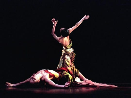 "Members of the Buglisi Dance Theatre perform ""Requiem."" Company will perform June 4 and 5 at Kaatsbaan International Dance Center, Tivoli."