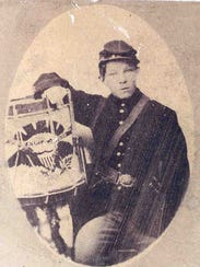 "George W. Stone was nicknamed the ""little drummer boy."""