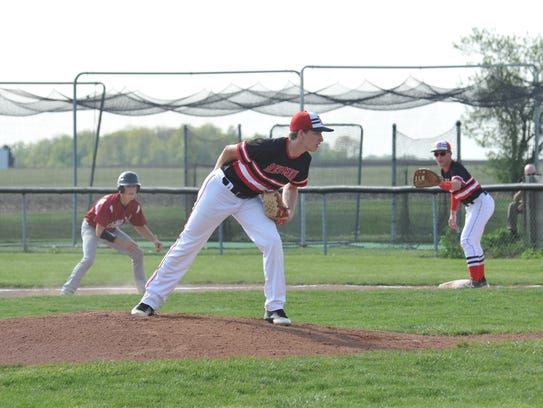 Trenton Dunford was clinical on the mound against Willard