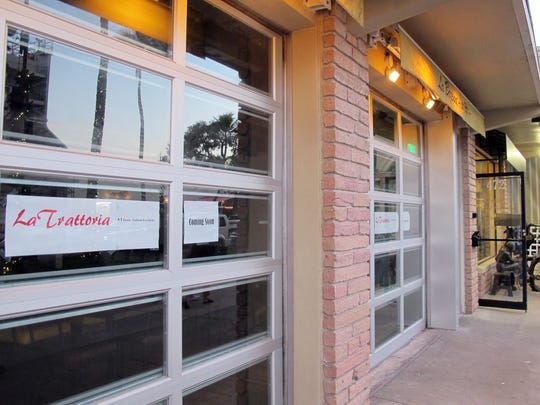 La Trattoria Italian kitchen is targeted to open at