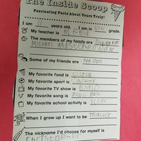 A Facebook post by Bob Cornelius of Rockaway Township of this school questionnaire filled out by his 11-year-old son, Christopher (shown here at age 9), who is on the autism spectrum and says he has no friends, has gone viral on social media and in the news.