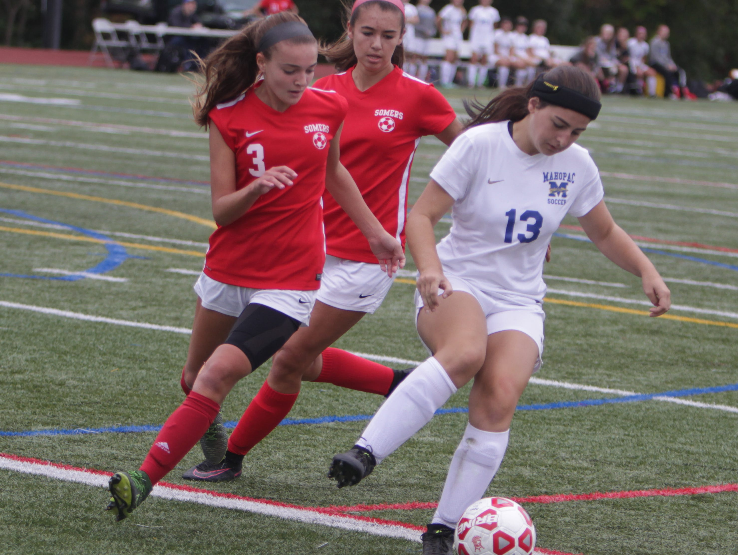 Somers closes out the regular season against Arlington and Yorktown.