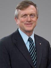 Outgoing Bergmann Associates CEO Tom Mitchell. He will