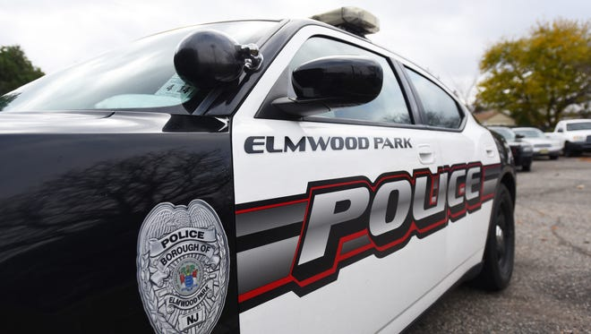 Elmwood Park police vehicle.