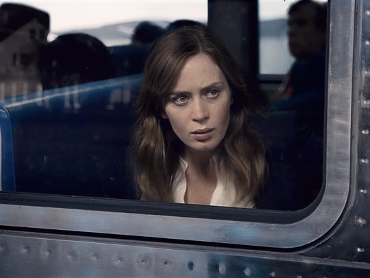 The wheels of 'The Girl on the Train' are set into